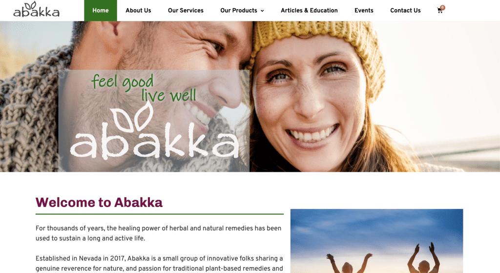Abakka Homepage Image