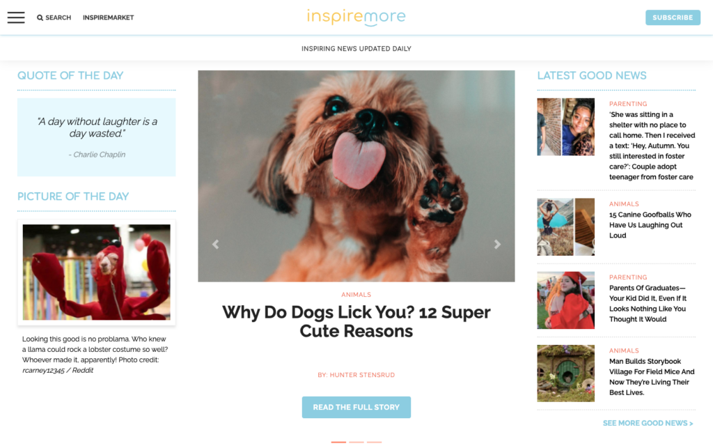 inspire-more-home-page