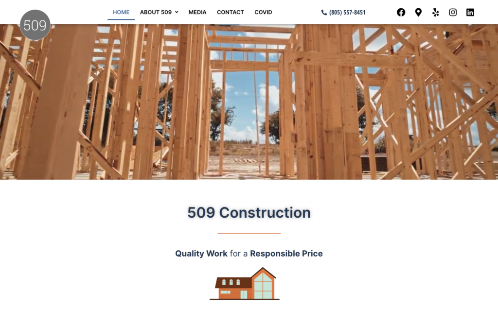 509-construction-home-page
