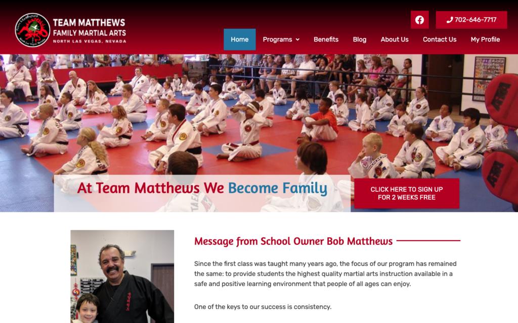 team-matthews-ata-home-page